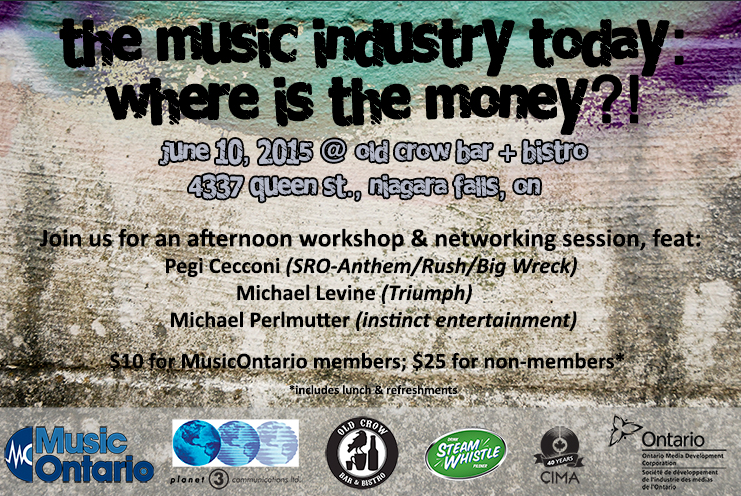 Mike Levine Music Ontario Panel